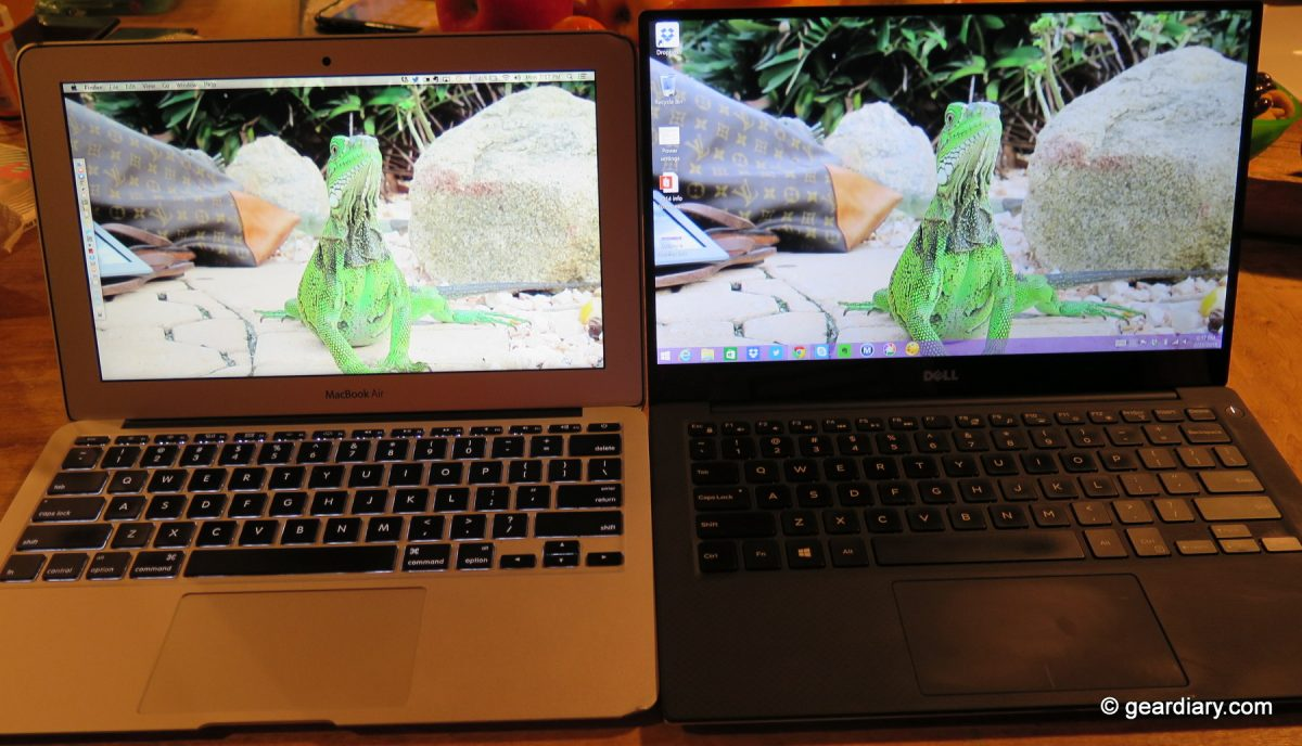 The #Dell #XPS 13″ Ultrabook vs  the 11″ MacBook Air: Which Would