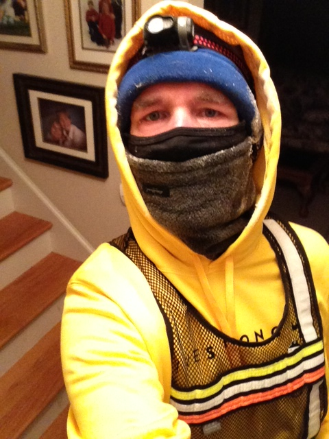 GearDiary Anatomy of 'Extreme Sub-Zero' Runner - $750 of Winter Running Gear