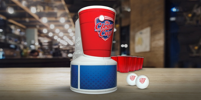 GearDiary The Beer Pong Clean Up Cup Will Stop You from Having Dirty Balls