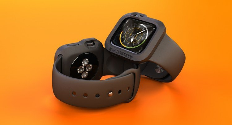 """A Case for Your Apple Watch? Nope, It's """"The Bumper"""""""