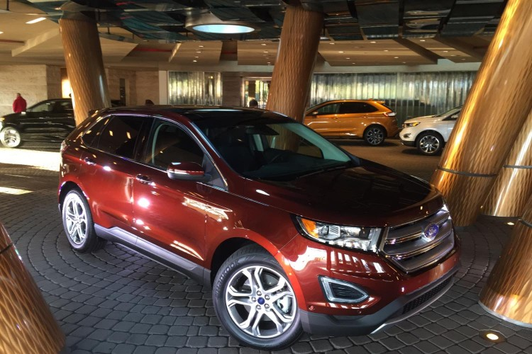 2015 Ford Edge/Images by Author