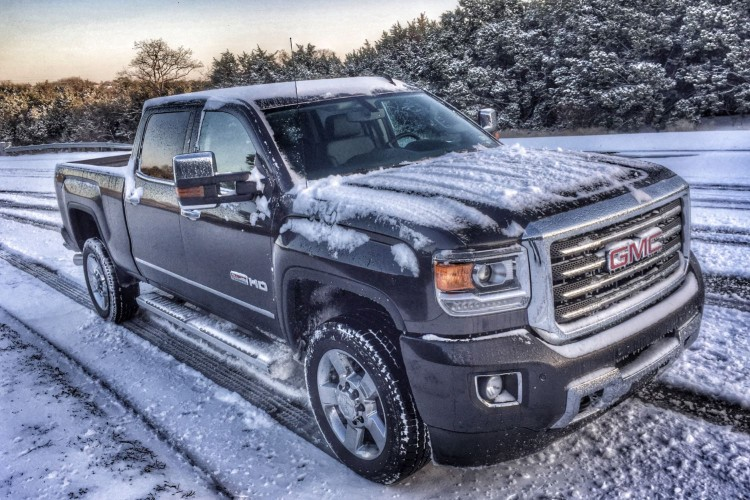 2015 GMC Sierra 2500HD All Terrain/Images by Author