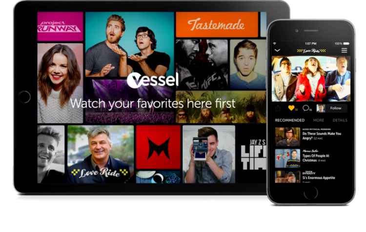 Vessel's New Streaming Service Launches with a One Year Free Subscription