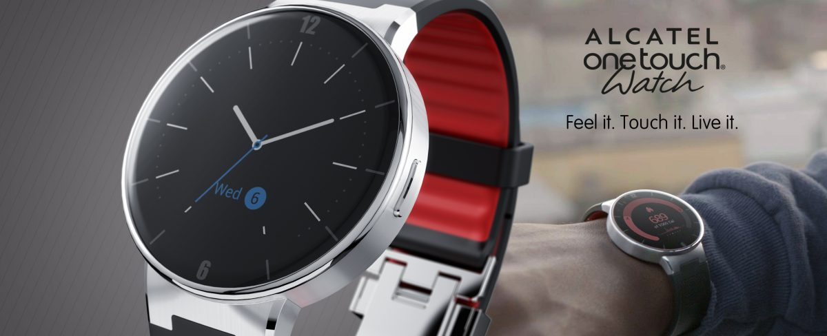 Alcatel's OneTouch SmartWatch for iOS/Android Now Available for Pre-Order