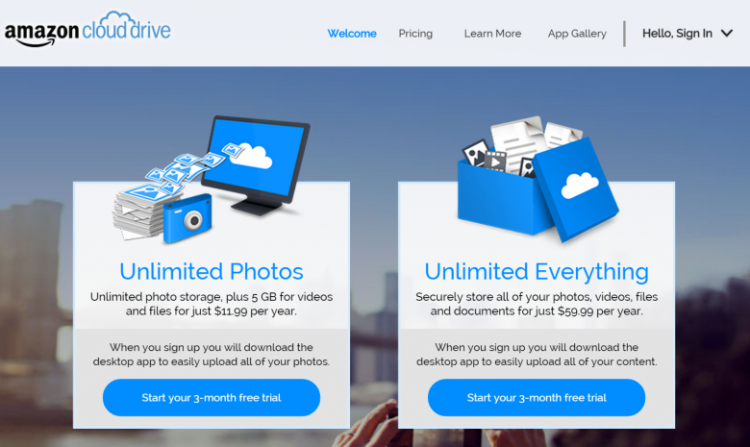 Amazon Cloud Drive Goes Unlimited; Your Move, Dropbox