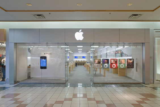 GearDiary Apple Stores Drive Mall Sales Higher by as Much as 10%!