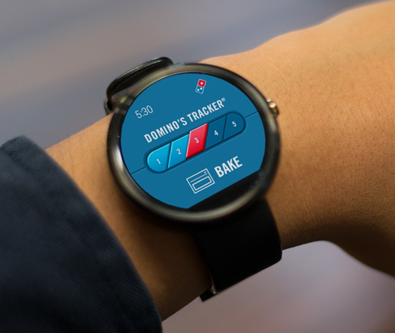 GearDiary Domino's Latest Innovation: Ordering on Pebble & Android Wear Smartwatches