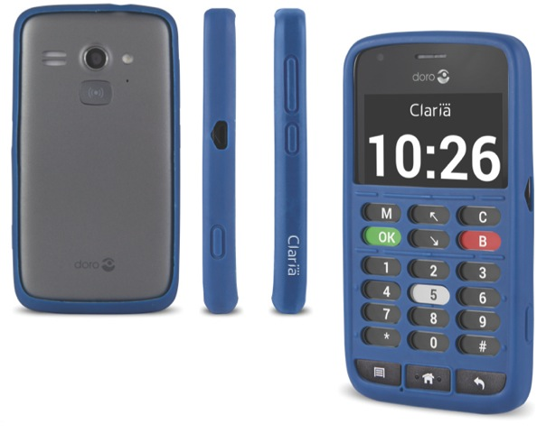 GearDiary Swedish Company Doro Announces Smartphone for the Blind and Elderly