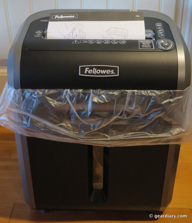 Fellowes PowerShred 79Ci Jam Proof Cross-Cut Shredder-012