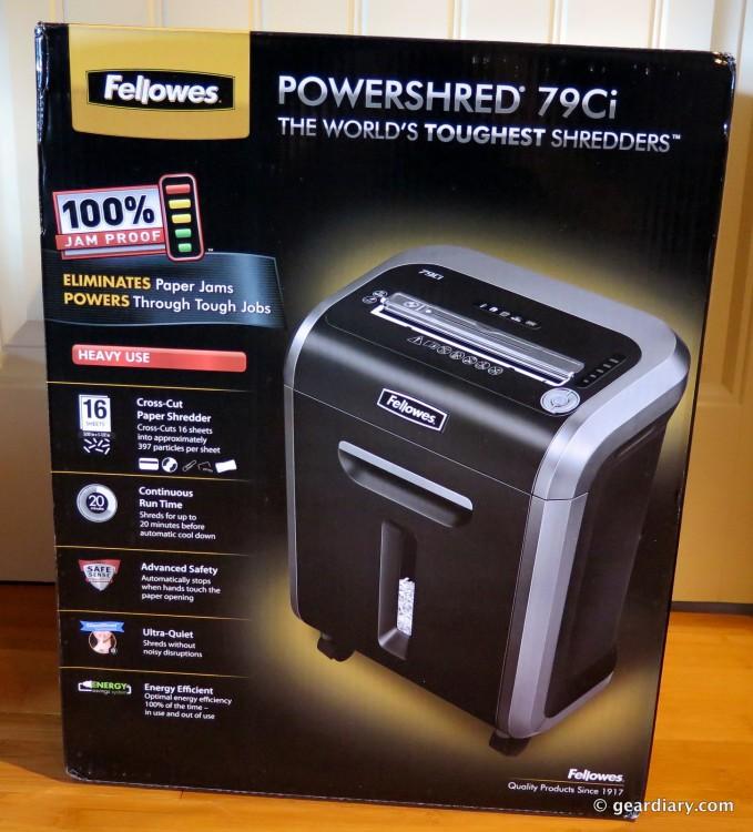 Fellowes PowerShred 79Ci Jam Proof Cross-Cut Shredder