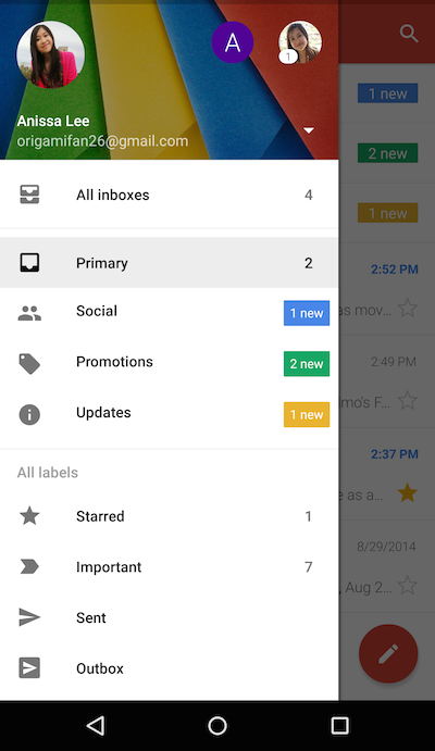 GearDiary Gmail (Finally) Gets One Inbox