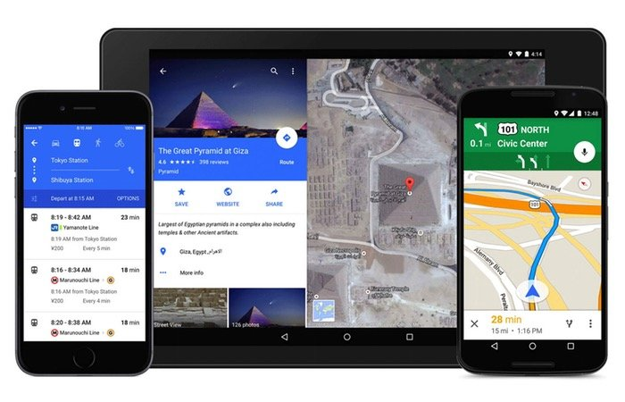 Latest Google Maps Update Highlights Full-Screen Apps and Mic Directions