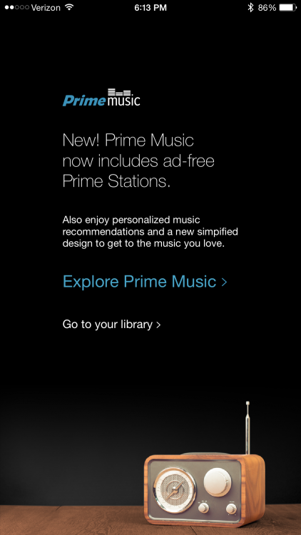 Amazon Prime Music Gets Ad-Free Prime Stations with Unlimited Skips