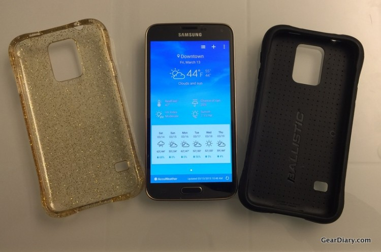 Ballistic Tough Jacket & Jewel Cases for Samsung Galaxy S5 Reviewed