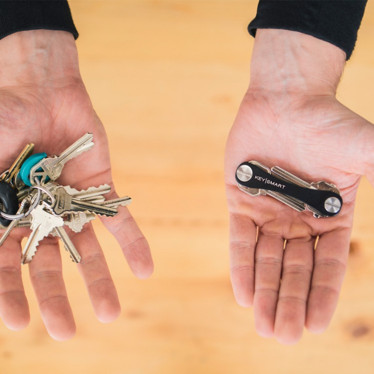 KeySmart Key Organizer Was Made for the Minimalist In You
