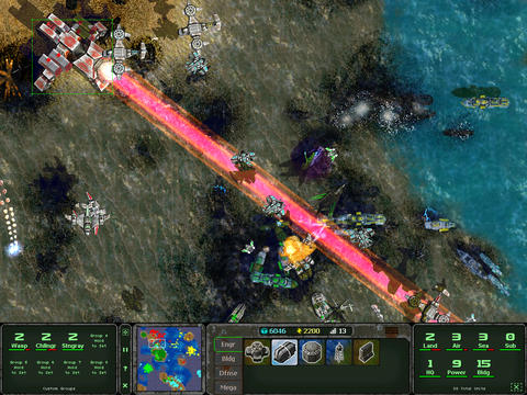 GearDiary Land Air Sea Warfare Brings Awesome Real-Time Strategy to Android