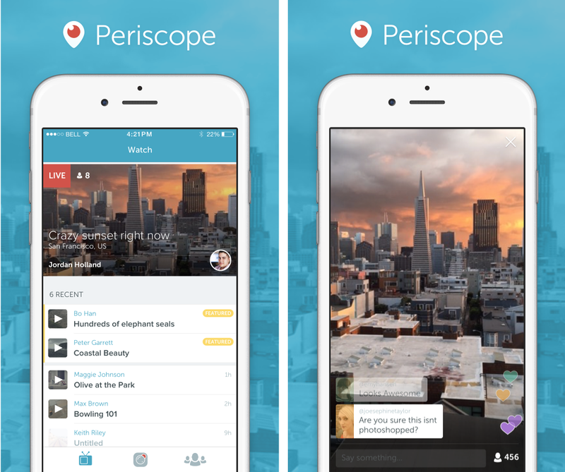 GearDiary Twitter Releases Periscope, Their Answer to Live-stream App Meekrat