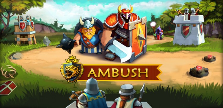 GearDiary AMBUSH! The New Tower Defense Game Hits the App Store