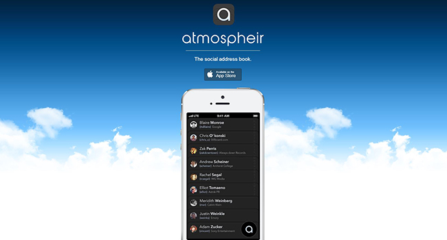 Atmospheir Is the Fastest Way to Communicate on Your iPhone