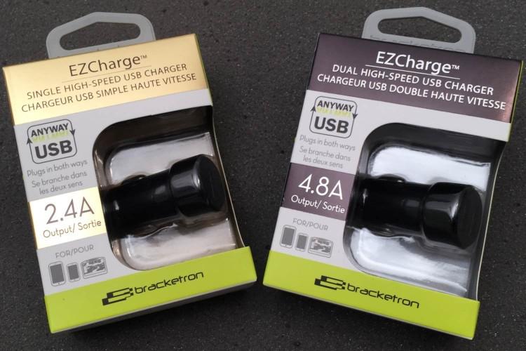Bracketron EZCharge/Images by Author