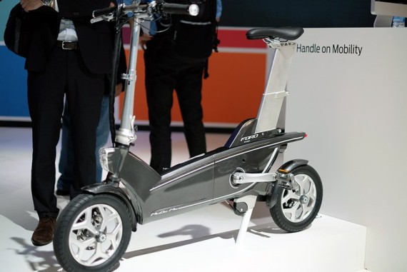 """Ford Turns """"Focus"""" on Urban Life; Shows Off Ford E-Bike Concepts at MCW 2015"""