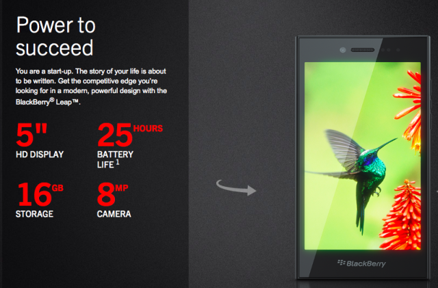 The BlackBerry Leap is Available for Pre-Order Today!