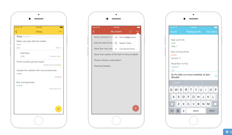 Todoist for iOS Gets an Update