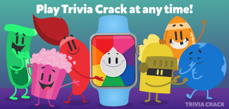 Trivia Crack for Apple Watch- April 24th