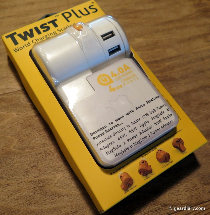 GearDiary The Oneadaptr Twist Plus World Travel Adapter Is the Perfect Power Source