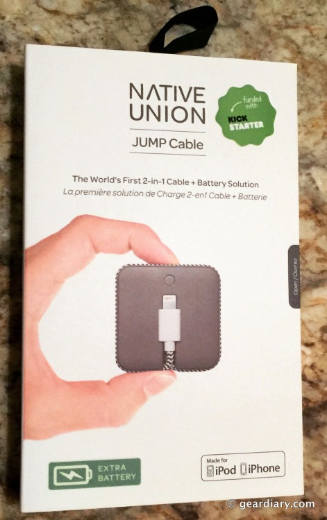 Native Union's JUMP Is a Cable/Battery Combo I Don't Leave at Home