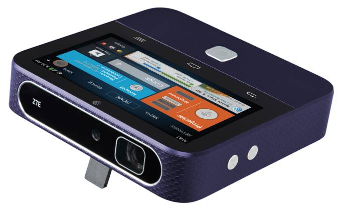 GearDiary ZTE's Projector/Hotspot SPRO 2 Available from AT&T This Friday