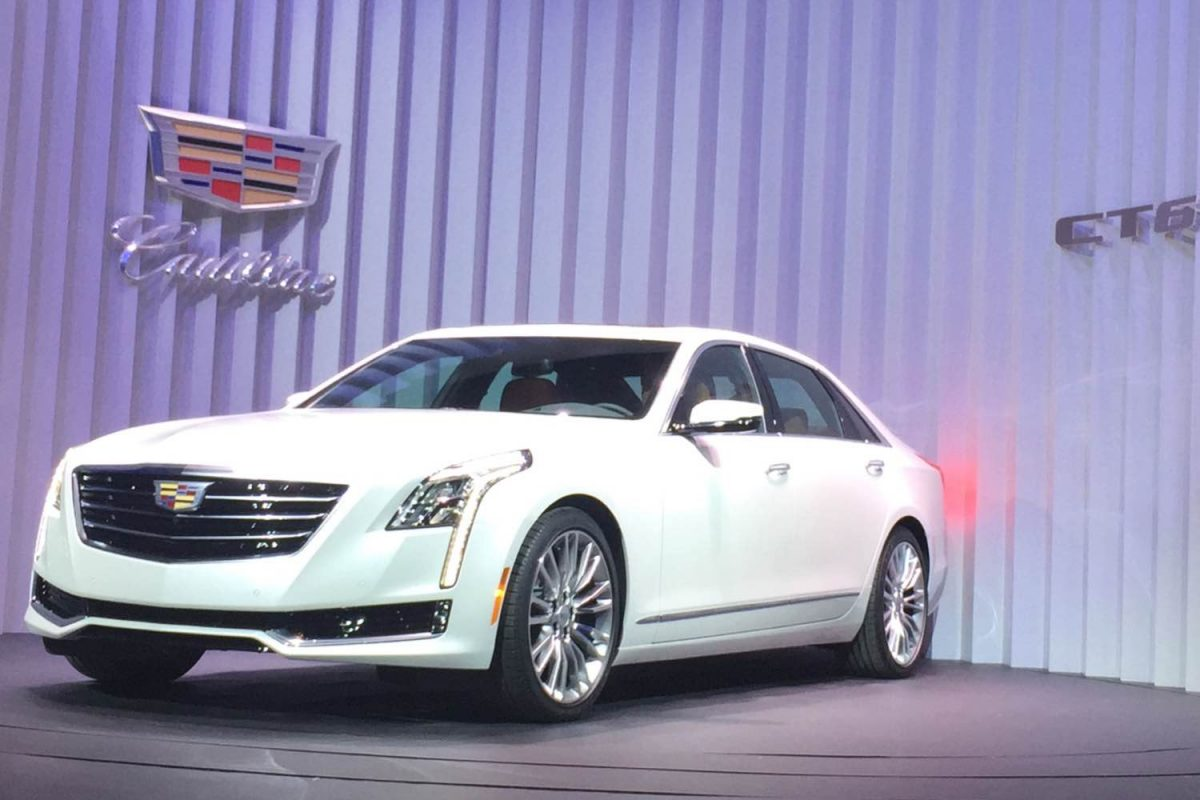 GearDiary 2016 Cadillac CT6 Debuts in New York City