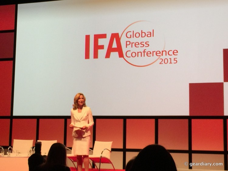 At #IFA15GPC, Consumer Electronics and Home Appliance Trends Were Explored.08-001