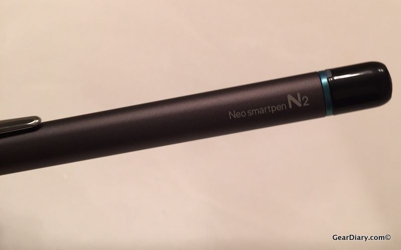GearDiary The Neo SmartPen N2 Is Great for When You Refuse to Type