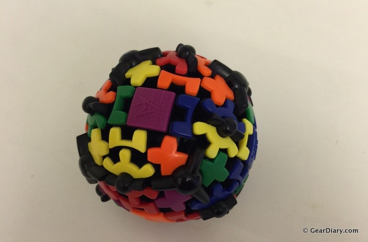 The Gear Ball Helps Me Keep My Mental Edge: A Review