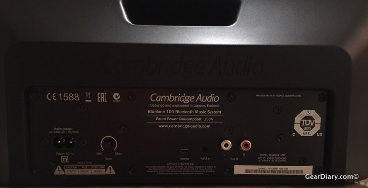 The Cambridge Bluetone Speaker Fills the Room, but It Needs a Power Source