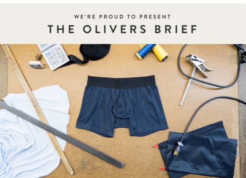 "GearDiary The OLIVERS Brief Will Let You ""Think Outside the Boxer"""
