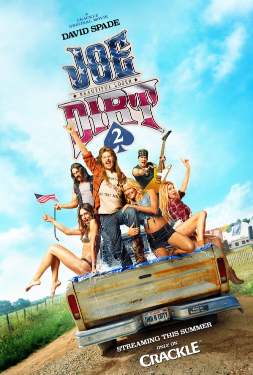 'Joe Dirt 2: Beautiful Loser' to Go Straight to Crackle