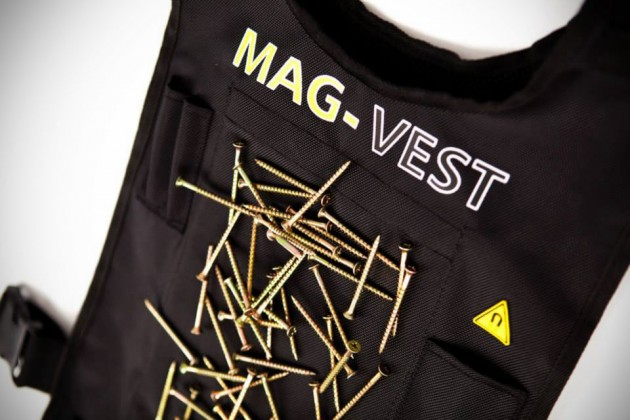 "GearDiary Ough, Ough, Ough! The Mag-Vest Tool Belt Is PERFECT for ""Home Improvement"""