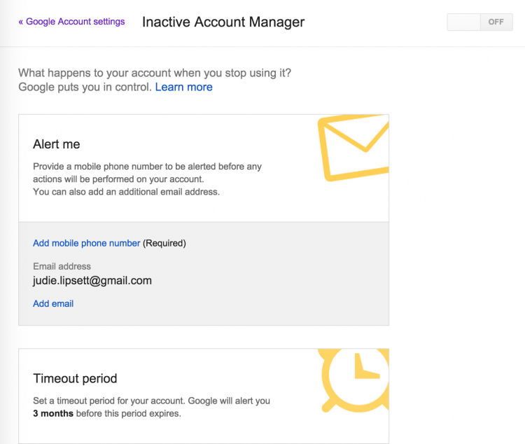 GearDiary How to Manage Your Google Account Access from Beyond the Grave