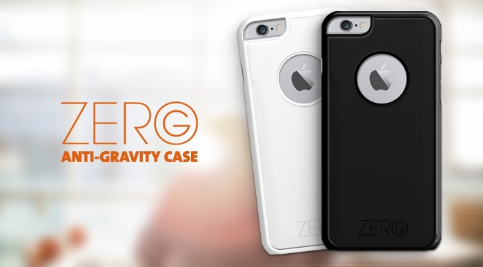 GearDiary A Case Worth Sticking to Everything: The Zero G Anti-Gravity Case