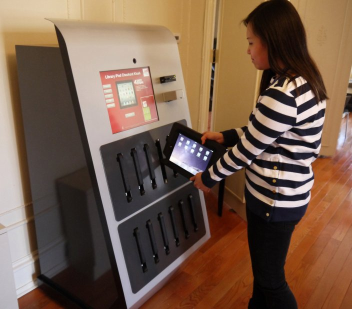 GearDiary If You Live Near Drexel University, Get an iPad Via Vending Machine
