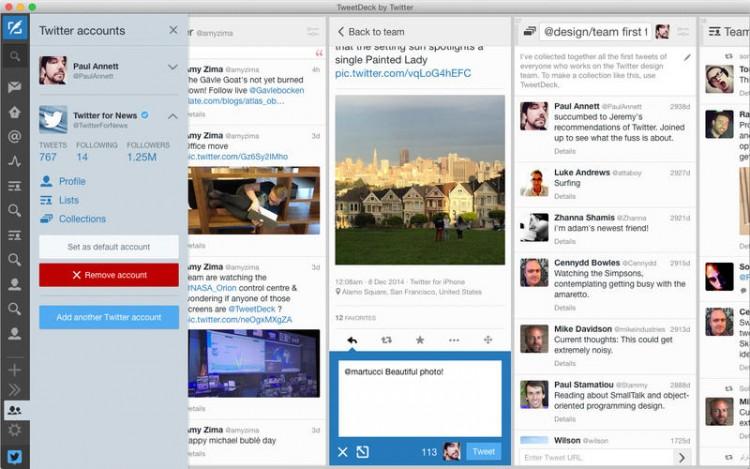 Tweetdeck for Mac Receives a Huge Update