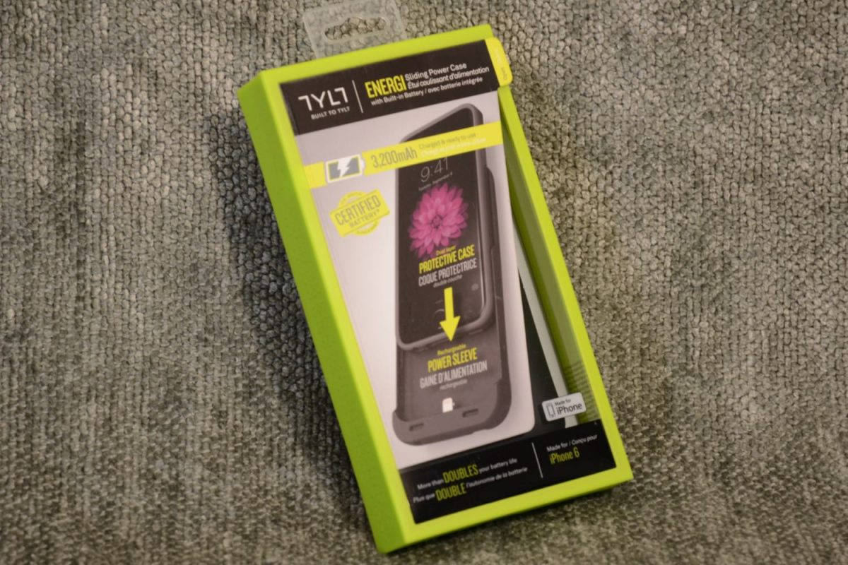 GearDiary TYLT ENERGI Sliding Power Case for iPhone 6 More Than Doubles Your Day