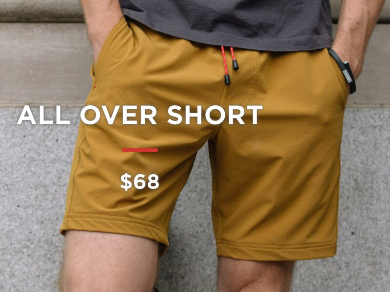 GearDiary OLIVERS All Over Shorts Are Gym Shorts Re-Envisioned