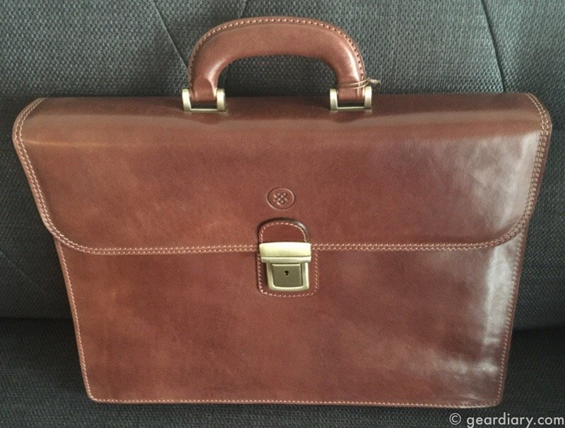 Maxwell Scott Paolo2 Classic Leather Briefcase Review