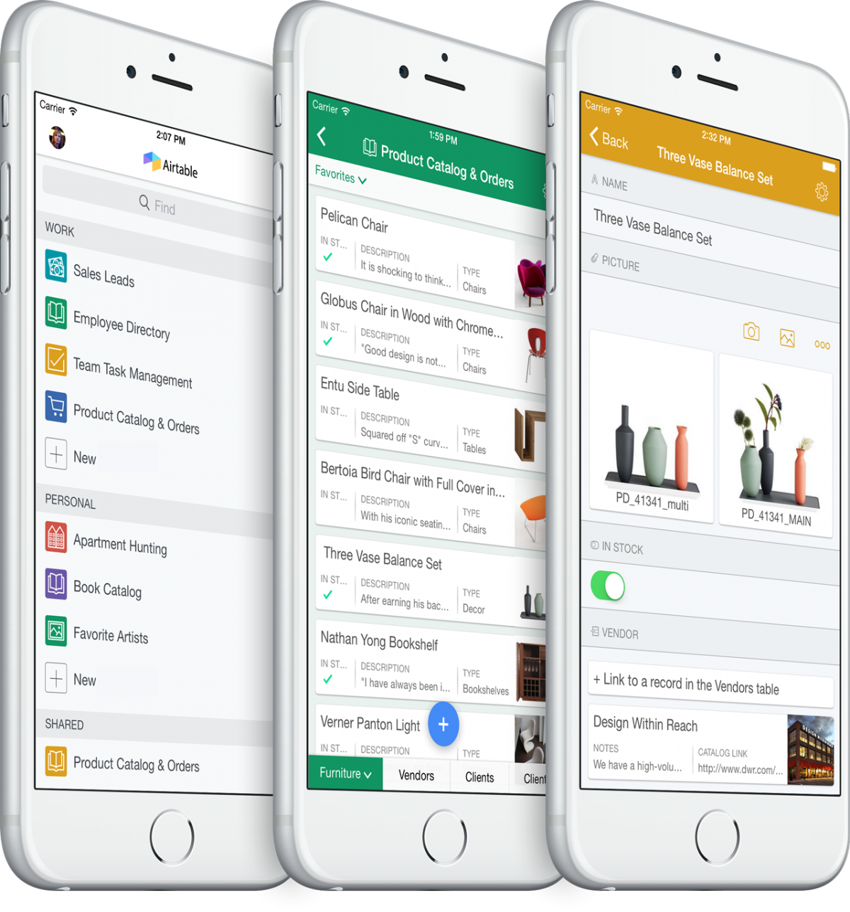 GearDiary Airtable for iOS Makes Spreadsheets Worth Wanting To Do