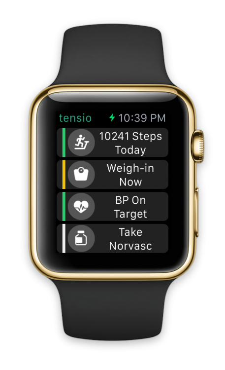 GearDiary Tensio's Apple Watch App Helps Manage Your Blood Pressure