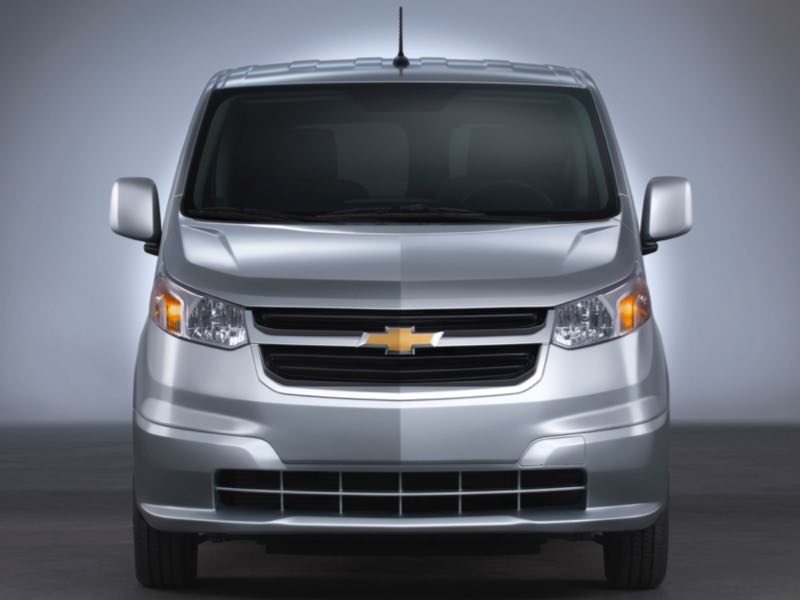 GearDiary 2015 Chevrolet City Express: Nissan Wearing a Bowtie