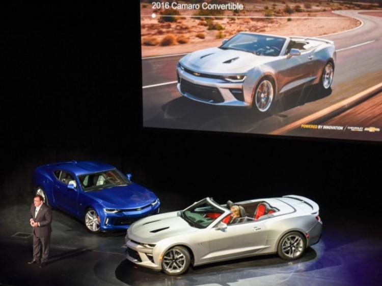 2016 Chevrolet Camaro Convertible/Images courtesy Chevrolet
